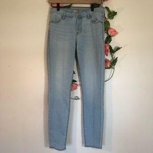 Old Navy Lightwash Skinny High Rise Jeans